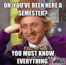 College Freshman Meme - csu freshman meme