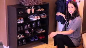 Organizing Store How To Store Shoes In A Small Space Home Organization Youtube