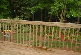 how to install aluminum balusters on your deck railing infobarrel