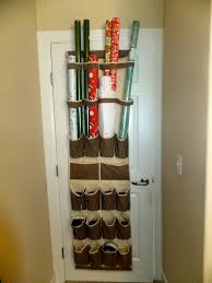 cheap wrapping paper diy wrapping paper storage center genius