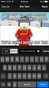 Meme Apps - 2 superb iphone apps for finding and sharing memes and gifs