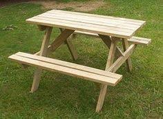 Foldable Picnic Table Plans by How To Build A 2 Piece Folding Picnic Table Folding Picnic