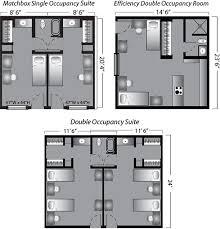 room floor plans inn housing