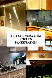kitchen backsplash stainless steel stainless steel kitchen backsplash judul