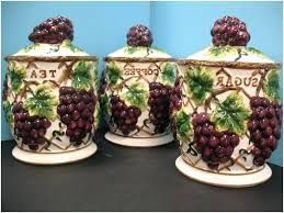 grape canister sets kitchen vineyard kitchen decor grapevine wine country kitchen decor grapes