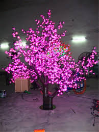color laixiang led cherry blossom tree light 1m to 6m pink color