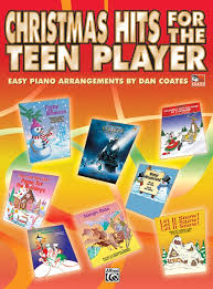 christmas hits for the teen player piano book