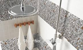 Tile Bathroom Picture More Detailed Picture About Glass Mosaic - Seashell backsplash