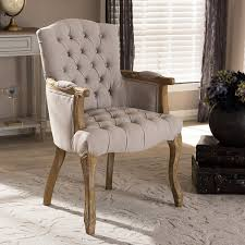 amazon com baxton studio clemence french provincial weathered
