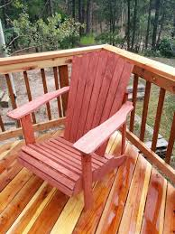 Canvas Deck Chair Plans Pdf by Adirondack Chair 15 Steps With Pictures