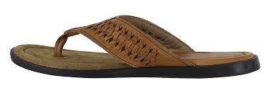 red tape coe mens toe post leather slip on flip flop sandals men u0027s