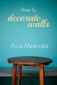 remodelaholic how to decorate walls as a minimalist