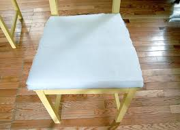Diy Foam Upholstery Supplies Diy Add Upholstered Cushions To Chairs