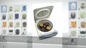 heraeus megafuge 40 centrifuge laboratory equipment com youtube
