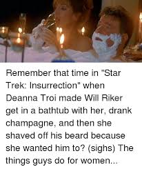 Star Trek Kink Meme - 25 best memes about star trek insurrection star trek