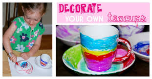 decorate your own teacups homegrown friends