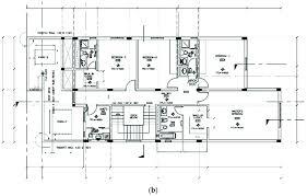 ground floor first floor home plan a ground floor plan of kfupm faculty housing b first floor
