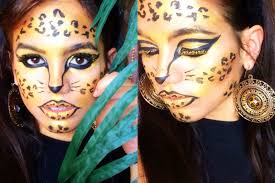 Glitter Halloween Costumes Glitter Glam Cheetah Halloween Costume Idea