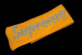 yellow headband supreme headband apparel