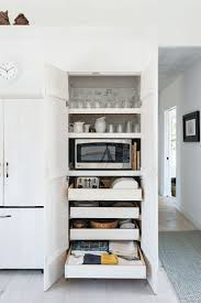 Kitchen Pantry Cabinets Best 25 Tall Pantry Cabinet Ideas On Pinterest White Glazed