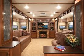 5th wheel with living room in front 5th wheel rv with front living room fireplace fifth up step titanium