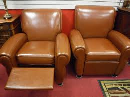 Leather Armchair With Ottoman Chairs Leather Club Chair With Ottoman Chairs Ottomans New Item