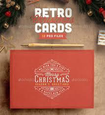 retro christmas cards 25 cool psd christmas card templates web graphic design bashooka