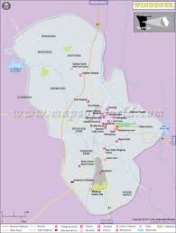 Namibia Map Windhoek Map Map Of Windhoek City Capital Of Namibia