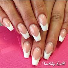 coffin french tip nail art pinterest manicure nail nail and
