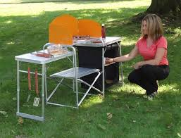 outdoor cooking prep table n go outdoor cooking prep station