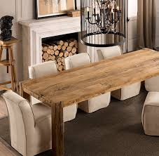 Distressed Wood Dining Room Table by Dining Table Best Reclaimed Unique Best Wood For Dining Room Table
