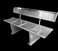 stainless steel waiting bench at rs 16500 piece stainless steel