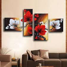 Wall Art Paintings For Living Room Online Get Cheap Modern Abstract Art For Sale Aliexpress Com