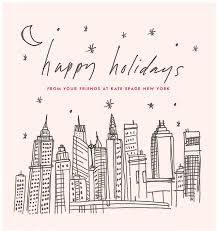 happy holidays from your friends at kate spade new york design