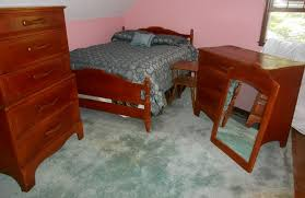 cushman colonial rock maple complete bedroom set incl full sized