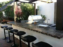 outdoor kitchen designs pergola with climbing plant feat built in