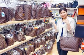 designer second foreign tourists buying second brand goods in japan are