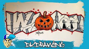 how to draw graffiti letters halloween halloween special 3
