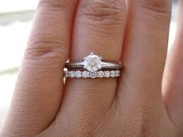 wedding ring and band brilliant solitaire setting engagement ring with