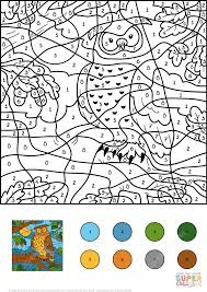 free thanksgiving color by number printable pages 100 images