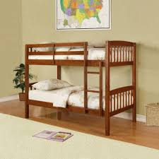 Essential Home Bunk Bed Walnut By Essential Home - Essential home bunk bed