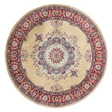 Round Persian Rug Vintage Persian Rugs Western American Fashion Classic Round Rug