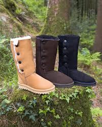 British Flag Boots Women U0027s Sheepskin Boots British Made