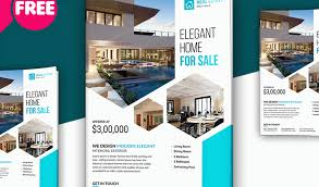real estate brochure templates psd free download 10 profession