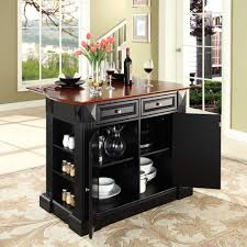 small kitchen island functioned as breakfast table idea small