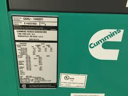 125 kw cummins onan generator new w warranty from man 6 8l v