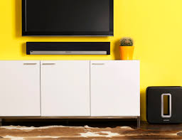 difference between soundbar and home theater system sonos 3 1 home theater system with playbar and sub ebay