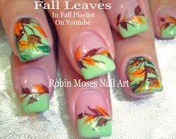 nail art easy thanksgiving nail art instructions designsas cute