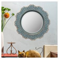 Wall Mirrors At Target Decorative Metal Mirrors Target