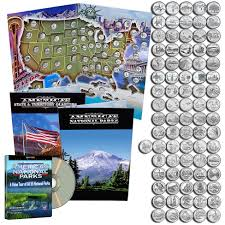 First State Quarters Of The United States Collectors Map by Coin Collector Starter Kits For Beginners The Patriotic Mint